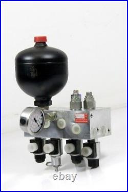 Steuerblock Nivellement 12 Vdc Hydraulique Auflagelastregelung 50 150kg