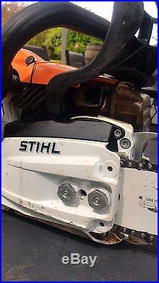 Stihl MS 362 C-M du 09/2016 Guide de 50 parfait état tronçonneuse