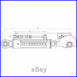 TCVNN356330022 Barre de poussée hydraulique KRAMP sans flexible