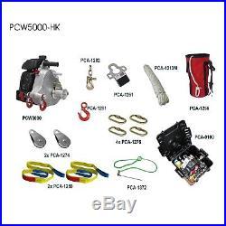 Treuil Forestier, déversement, à câble Ensemble PCW5000 HK Sylviculture