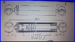 Verin Direction Hydraulique Gauche Hpm Massey Ferguson 100 200 300 3401240m91
