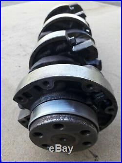 Vilebrequin / crankshaft moteur Kubota v1505