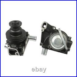 Wasserpumpe + Joint Pour Steyr 8100 8110 8120 8130 Avec Double Poulie